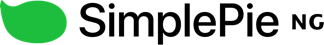The SimplePie wordmark (2017–)