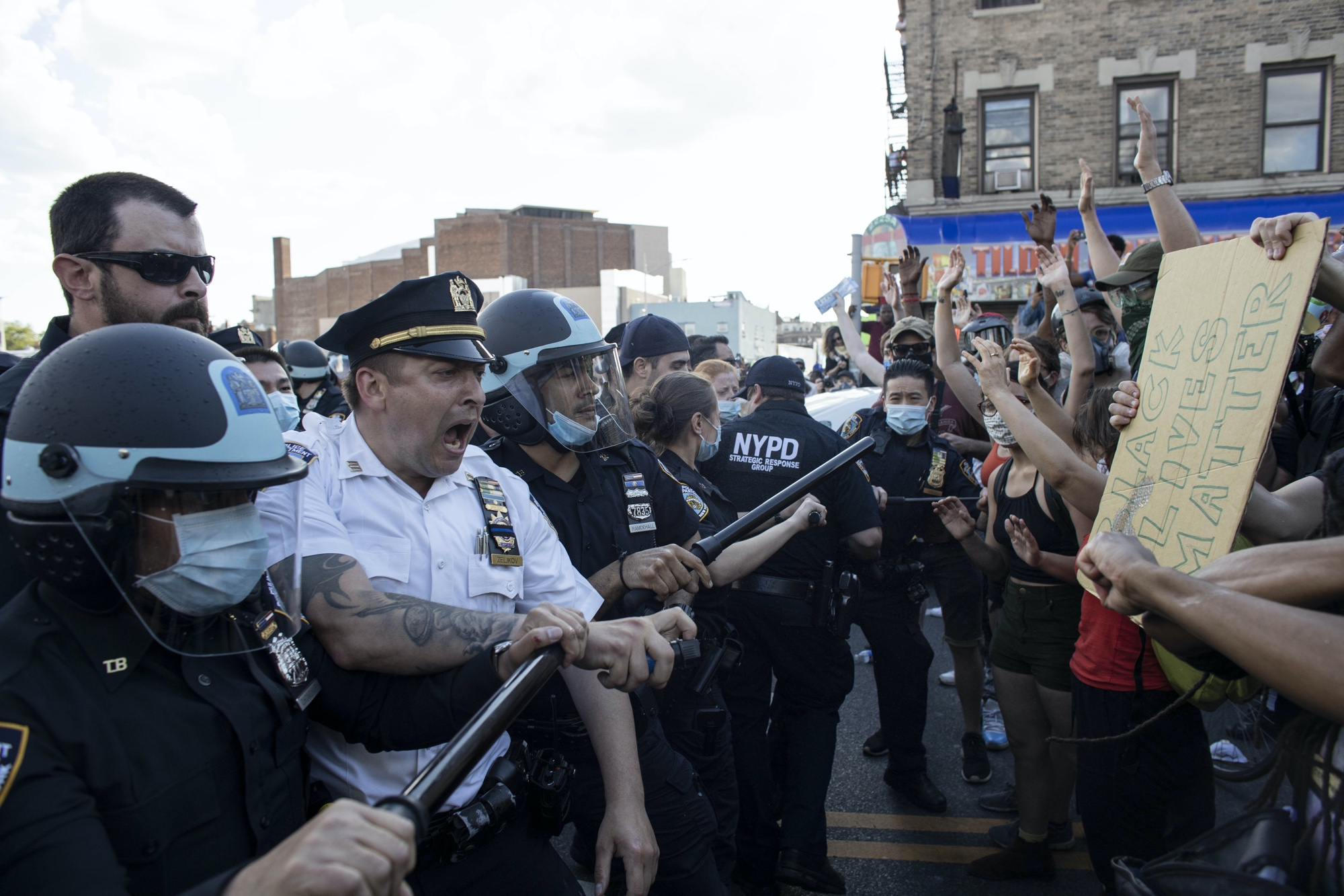America's occupation by militarized police is in full view